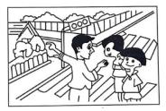 2021年人教版英语《情景交际》小学六年级上册期末复习题(附答案)