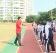 初三体育:站立式起跑