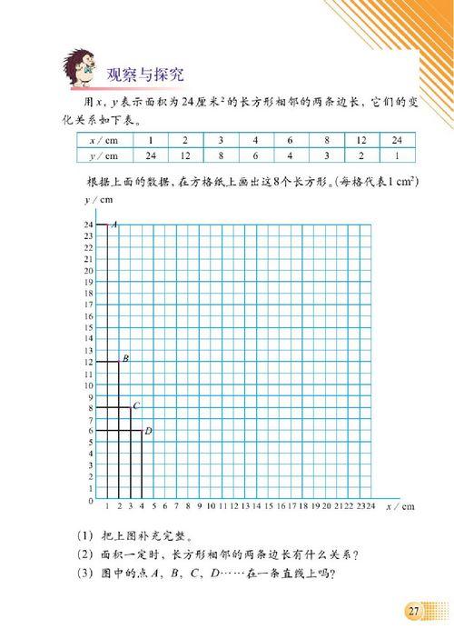 小学六年级数学下册二正比例和反比例_北师大版小学 ... : 中一 数学 比例 反比例 : 数学
