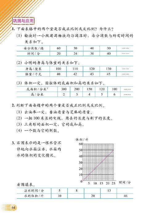 小学六年级数学下册总复习数与代数