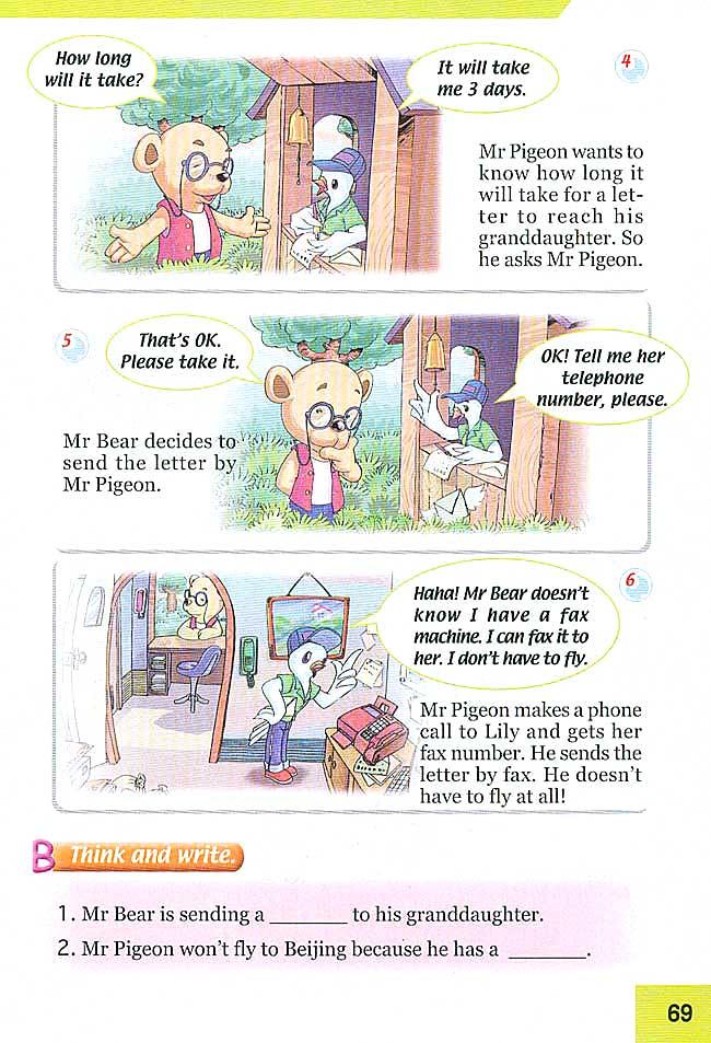 新起点小学四年级英语下册课本lesson89