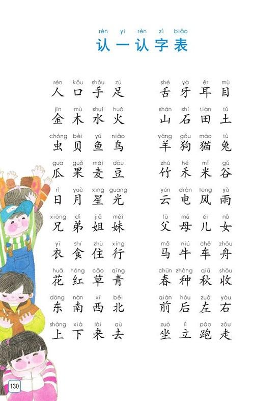 6新苏教版小学一年级语文上册课本全册教材